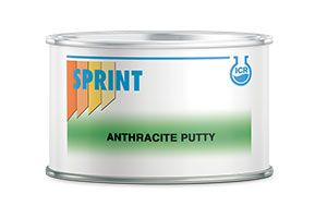 NUOVO Anthracite Putty: Stucco poliestere a Spatola